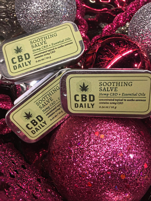 CBD Daily Soothing Salve Velvet Box DFW
