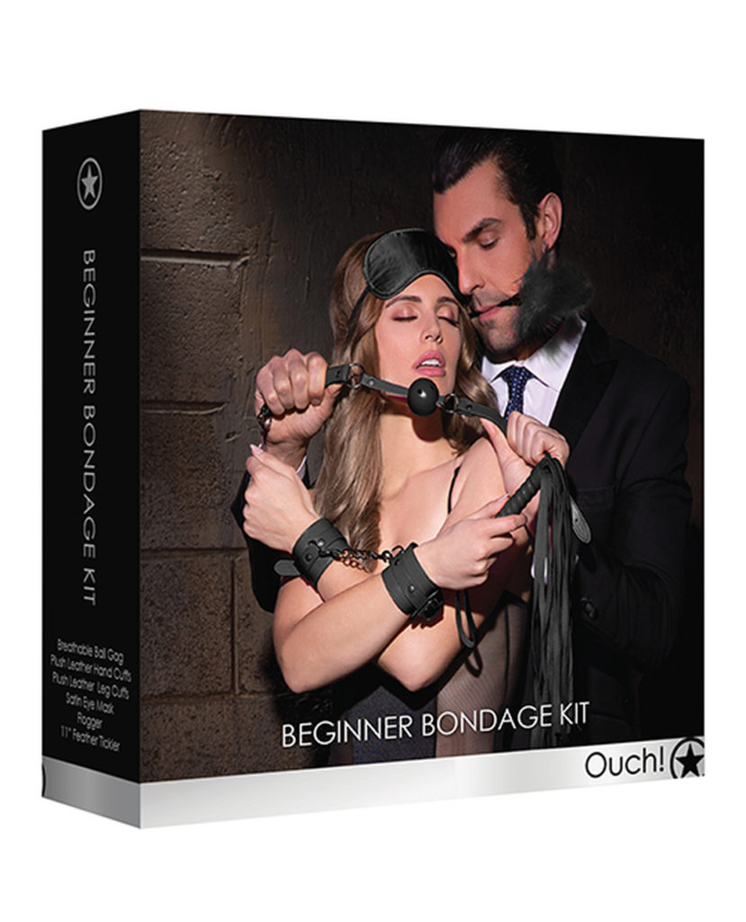 ouch beginners bondage kit to pair with the pawn erotica novel free velvet box dallas fort worth sex toy store bdsm