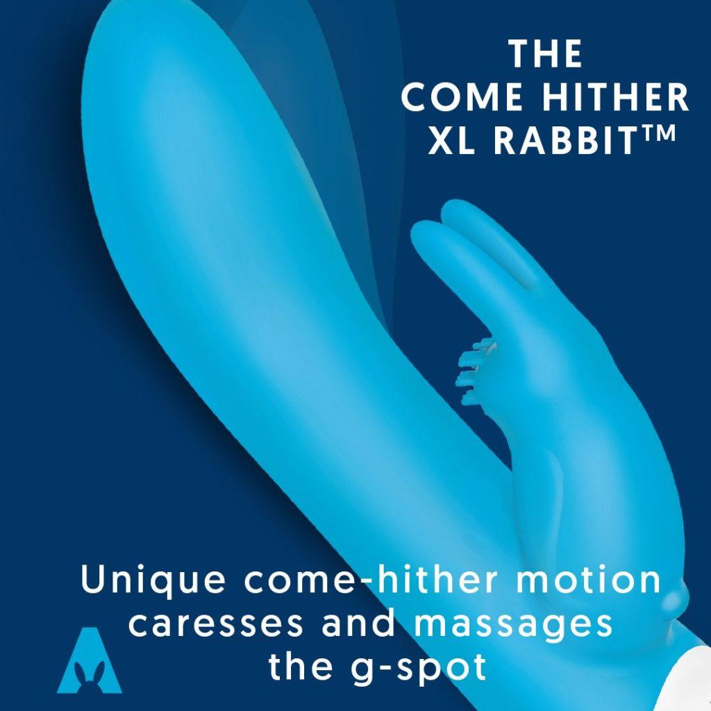 come hither rabbit xl by rabbit company velvet box dfw adult toys