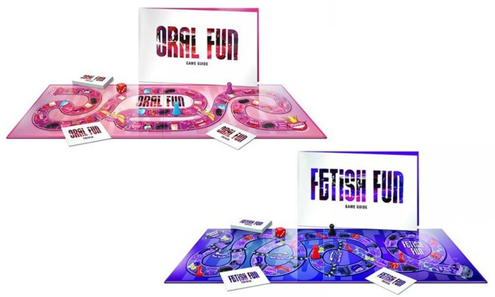 Oral Fun Fetish Fun Velvet Box DFW